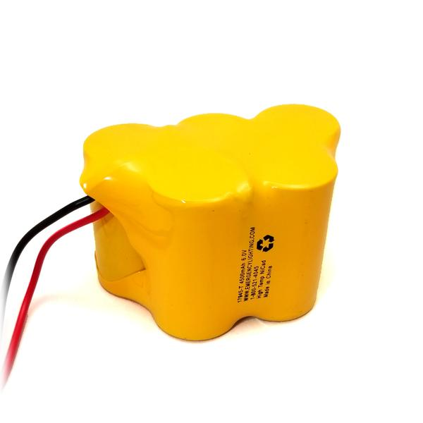 17945-nst 6V D Cell NiCad Battery Pack