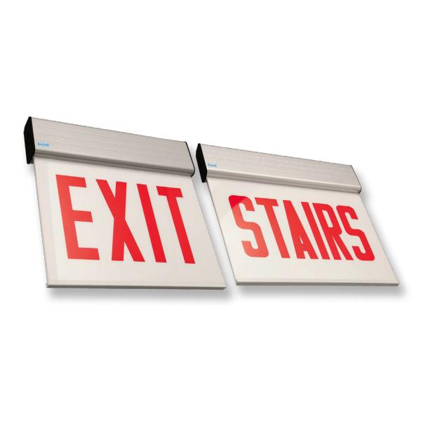 C-OL2 Chicago Approved Surface Edge-lit Exit Sign