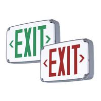 CEW Wet Location Exit Sign