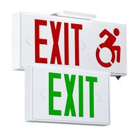 CS Series Aluminum Exit Sign